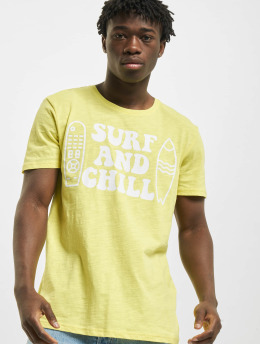 Sublevel T-Shirt Surf  gelb