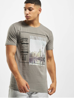 Sublevel T-Shirt Graphic  gris
