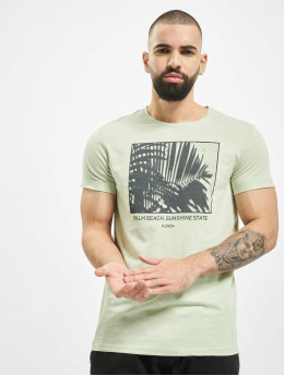 Sublevel T-Shirt Palm Beach grün