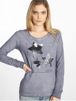 Sublevel | Shine Baby indigo Femme T-Shirt manches longues