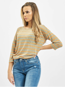 Sublevel T-Shirt manches longues Stripe vert
