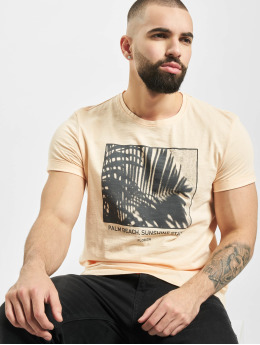 Sublevel T-Shirt Palm Beach orange