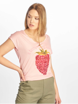 Sublevel T-Shirt Cut on Sleeves rose