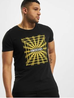 Sublevel T-shirt Dimensions  svart