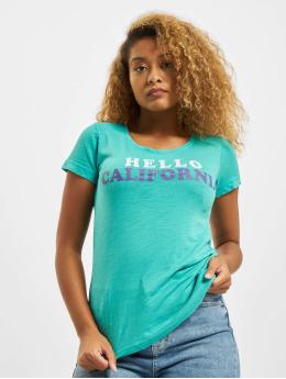 Sublevel T-Shirt Hello turquoise
