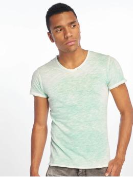 Sublevel T-shirt Flecked verde