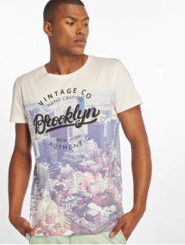 Sublevel T-Shirt Vintage weiß