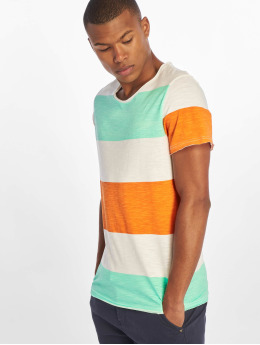 Sublevel t-shirt Stripes wit