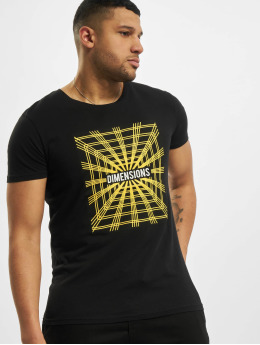 Sublevel T-Shirty Dimensions  czarny
