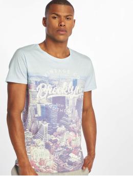 Sublevel T-Shirty Vintage niebieski