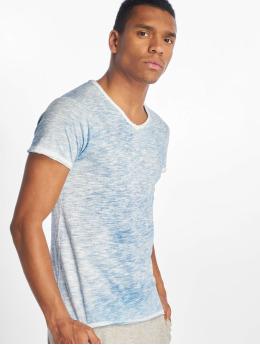 Sublevel T-Shirty Flecked niebieski