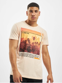 Sublevel T-Shirty Downtown rózowy