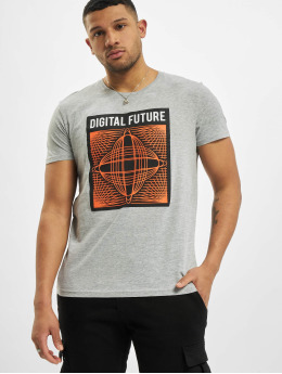 Sublevel T-Shirty Dimension szary