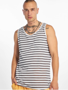 Sublevel Tank Tops Stripe azul