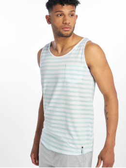 Sublevel Tanktop Stripe  turquois