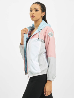 Sublevel Übergangsjacke Colour Block rosa
