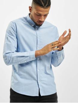 Suit Košele Oxford modrá