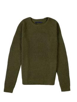 Suit Pullover Iron grün