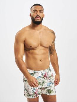 Suit Swim shorts Print Swim beige
