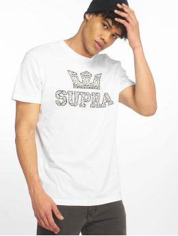 Supra Camiseta Above Regular blanco