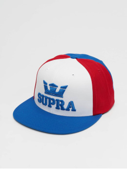 Supra Snapback Cap Above II rot