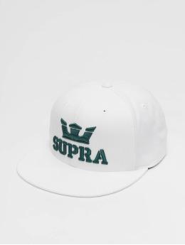 Supra Snapback Cap Above II weiß