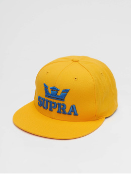 Supra Snapback Cap Above II  yellow