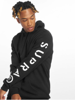 Supra Sudadera All Caps P/O Fleece negro