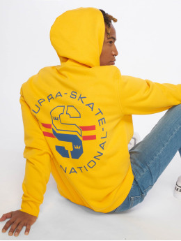 Supra Sweat capuche Skate P/O Fleece jaune