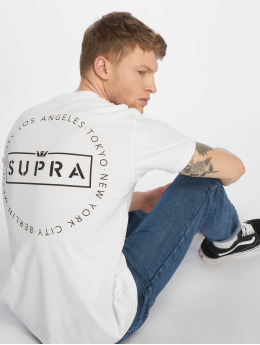 Supra T-Shirt We Are Supra Circle blanc