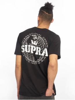 Supra T-Shirt International Crown schwarz
