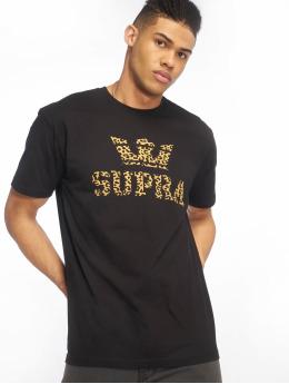 Supra t-shirt Above Regular zwart