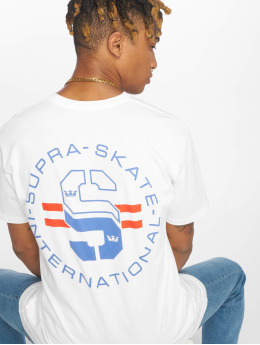 Supra T-skjorter Skate hvit