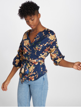 Sweewe Blouse Floral blauw