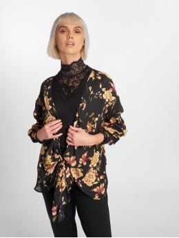 Sweewe Blusa / Túnica Floral  negro