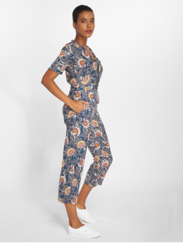 Sweewe jumpsuit Flowers blauw