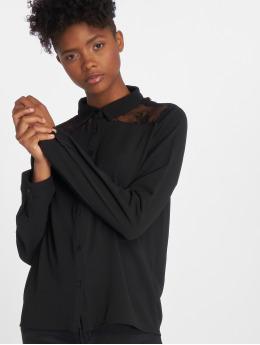 Sweewe overhemd Lace zwart