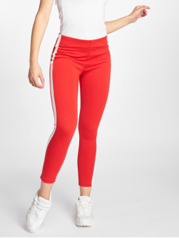 Sweewe Pantalon chino Stripe rouge