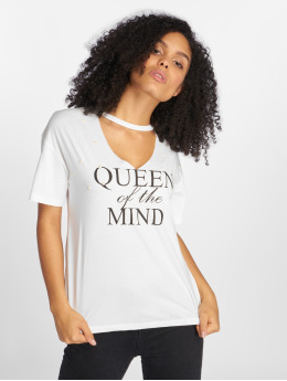 Sweewe T-Shirt Queen weiß