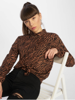 Tally Weijl Blouse/Tunic Fancy Print brown