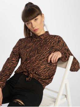 Tally Weijl Blusa / Túnica Fancy Print marrón