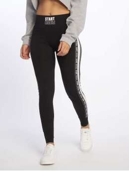 Tally Weijl Legging Knit Print Fancy zwart