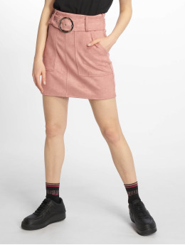 Tally Weijl Suede Skirt Old Rose