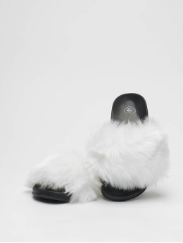 Tally Weijl Sandalen Fur Upper weiß
