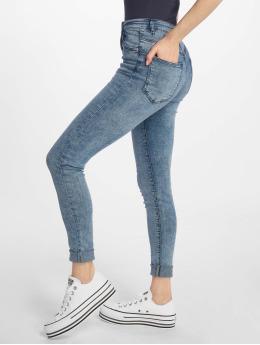 Tally Weijl Skinny Jeans High Waist blå