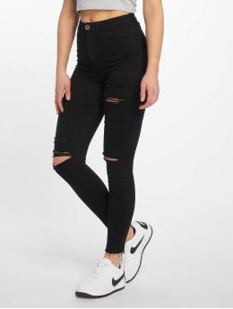 Tally Weijl Skinny Jeans Destroy schwarz