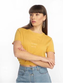 Tally Weijl Knitted T-Shirt Honey Golden