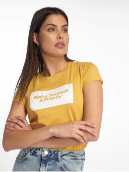 Tally Weijl T-Shirt Knitted gelb
