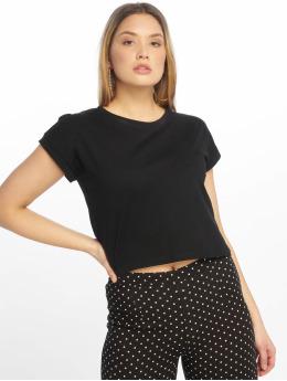 Tally Weijl T-shirt Basic Knitted svart