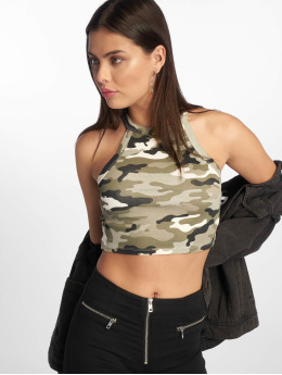 Tally Weijl Tops sans manche Basic Knitted camouflage